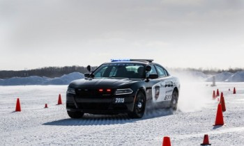 Driving the 2015 Dodge Charger AWD, 2015 Chrysler 200C AWD in Snow