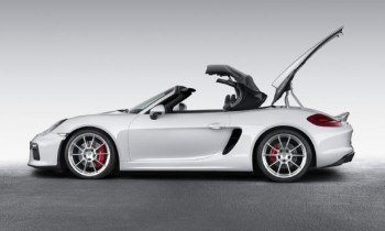 2016 Porsche Boxster Spyder Debuts in New York with 375 HP