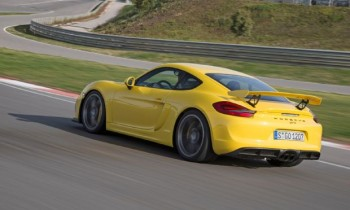 GT4-Engined Porsche Boxster Spyder Confirmed for 2015 Launch