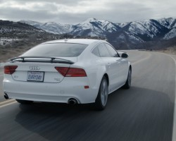 Audi A7 Sights & Sounds – Beauty, Exhaust, Fly-by