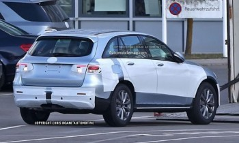 Mercedes-Benz GLC-Class Crossover Spied Undisguised
