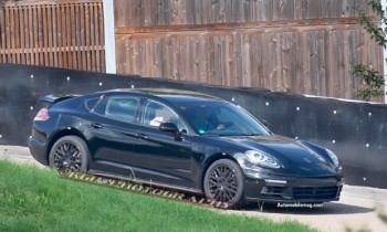 Next-Gen Porsche Panamera Spied Under Cover