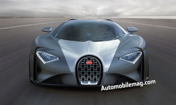 The Bugatti Chiron is a 1,500-HP Follow-Up to the Veyron