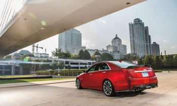 Alive and Kicking: 2016 Cadillac CTS-V Review