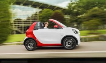 2017 Smart Fortwo Cabriolet Revealed Ahead of Frankfurt Debut