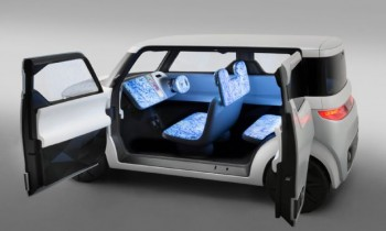 Nissan Teatro for Dayz Concept for Tokyo Is a Rolling Lounge for Teens