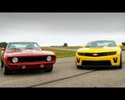 2012 Chevy Camaro ZL1 vs. Mark Stielow's Red Devil '69 Camaro – HOT ROD Unlimited Episode 13