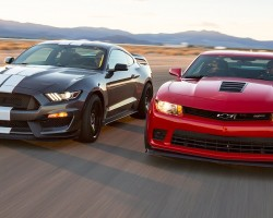 2016 Ford Mustang Shelby GT350R vs. 2015 Chevrolet Camaro Z/28 – Head 2 Head Ep. 71