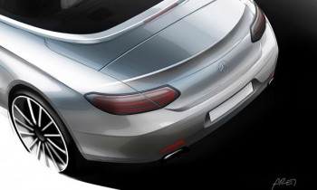 2017 Mercedes-Benz C-Class Cabriolet Drops its Roof in Teaser Image