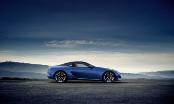 2018 Lexus LC 500h Uses 3.5-liter V-6, Electric Motor for 354 HP