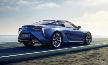 Lexus LC 500h Hybrid Coupe to Debut in Geneva