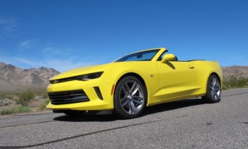 2016 Chevrolet Camaro convertible and 4-cylinder first drive