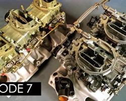 Holley vs. Edelbrock, Tri-Power vs. Dual-Quad! Engine Masters Ep. 7