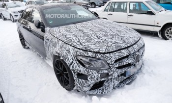 2017 Mercedes-AMG E63 spy shots and video