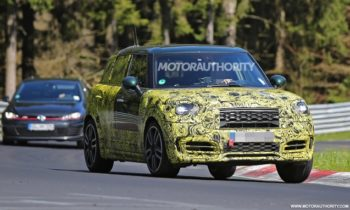 2017 Mini John Cooper Works Countryman spy shots