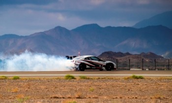 Nissan sets drifting record with GT-R Nismo