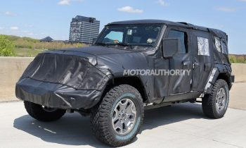 2018 Jeep Wrangler Unlimited spy shots