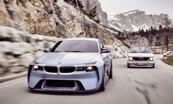 BMW honors 02 Series with Hommage concept at Villa d'Este