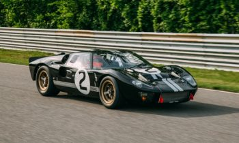 Restored Le Mans-winning 1966 Ford GT40 unveiled at Le Mans