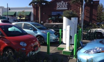 Free charging for electric-car owners at EVgo network for National Drive Electric Week
