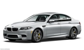 2016 BMW M5 Pure Metal Silver Limited Edition announced with 600 horsepower