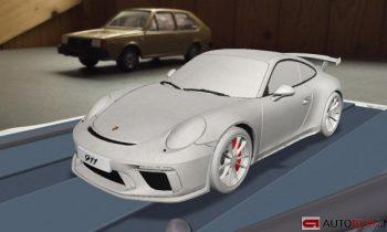 2017 Porsche 911 GT3 leaked