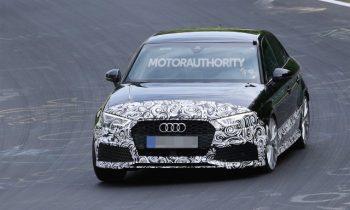 2018 Audi RS 3 spy shots