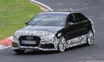 2018 Audi RS 3 spy video