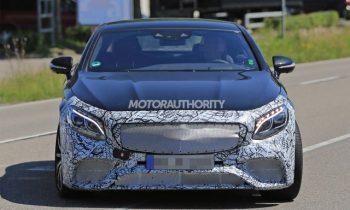 2019 Mercedes-AMG S63 Coupe spy shots