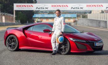 Fernando Alonso: 2017 Acura NSX braking feel similar to F1