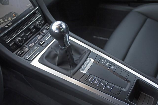 2014 Porsche Cayman manual transmission gear shift lever