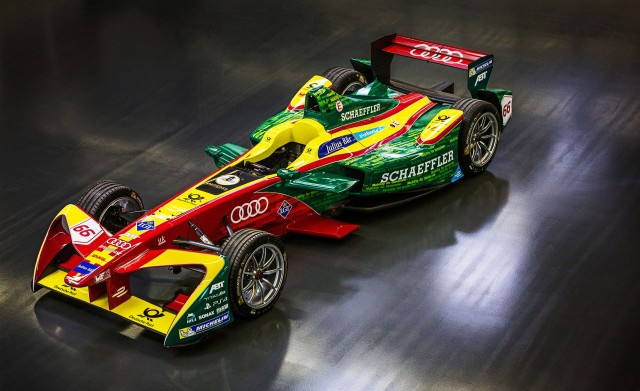 2016/2017 Formula E Team ABT Schaeffler Audi Sport race car