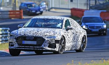 2019 Audi S7 spy shots
