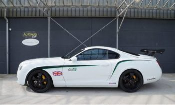 A Toyota Supra was turned into a Bentley GT3 R, for some unfathomable reason