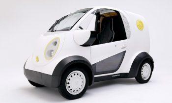 Honda teams up with Kabuku to create a 3D-printed car