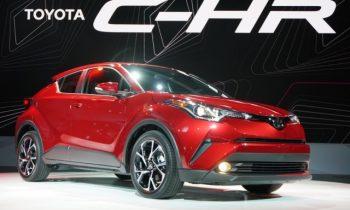 2018 Toyota CH-R debuts at LA auto show