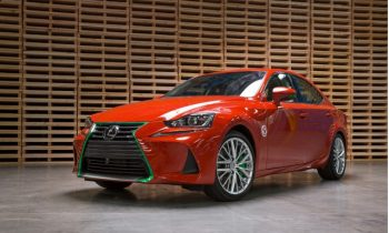 Lexus spices up the IS with Sriracha. Yes, Sriracha