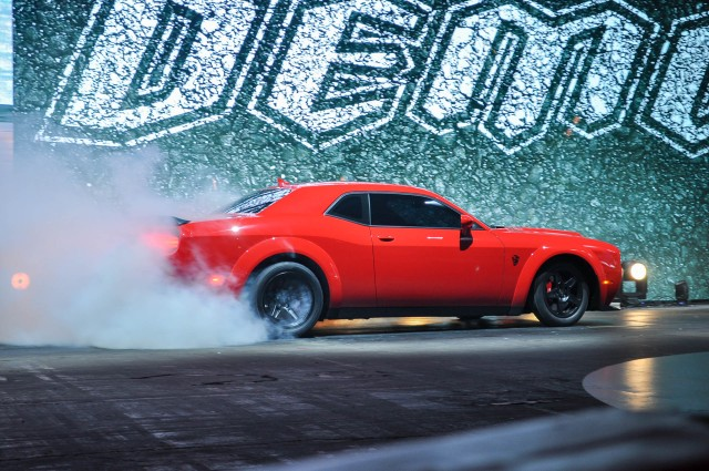 2018 dodge demon delivers 840 horsepower does 0 60 in 2 3 seconds the automotive news. Black Bedroom Furniture Sets. Home Design Ideas