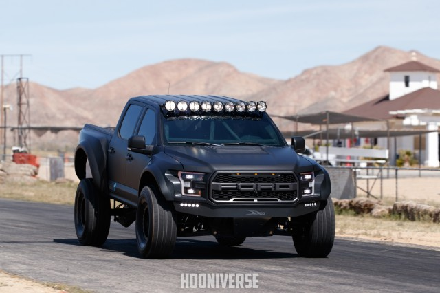 2017 Ford F-150 Raptor equipped with Alcon brake upgrade