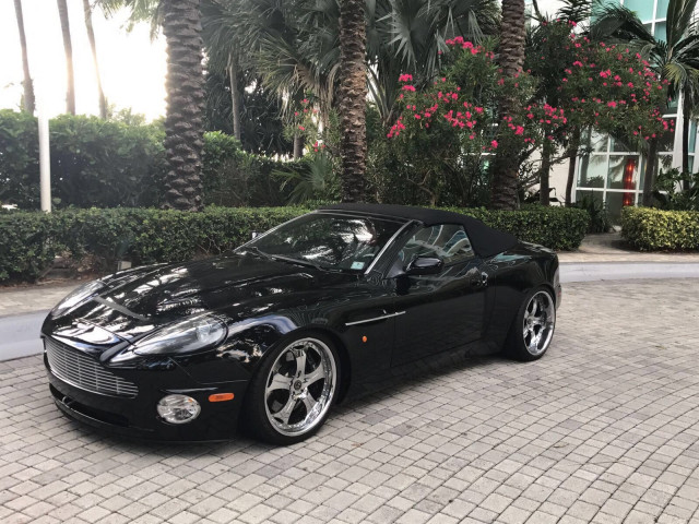Pedro Martinez is selling his 2003 Aston Martin Vanquish Volante for charity