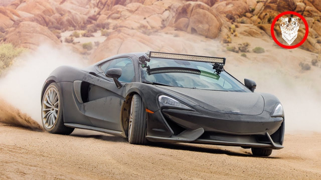 This is what it's like to take a McLaren 570GT off road