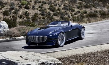 Vision Mercedes-Maybach 6 Cabriolet concept: Does this hood make me look expensive?