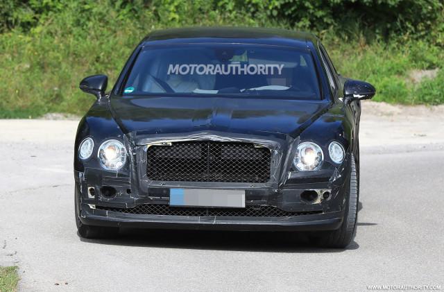 2020 Bentley Flying Spur spy shots - Image via S. Baldauf/SB-Medien