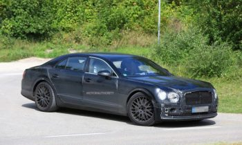 2019 Bentley Continental Flying Spur spy shots