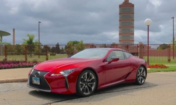 Achievements in design: the 2018 Lexus LC 500 with Wisconsin's Frank Lloyd Wright buildings
