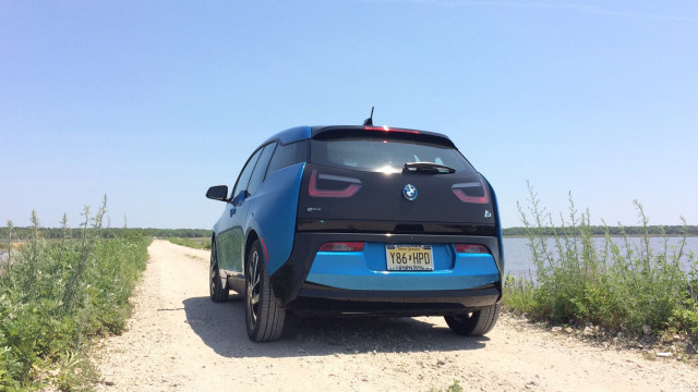 2017 BMW i3 REx range-extended electric car [photo: Chris Neff]