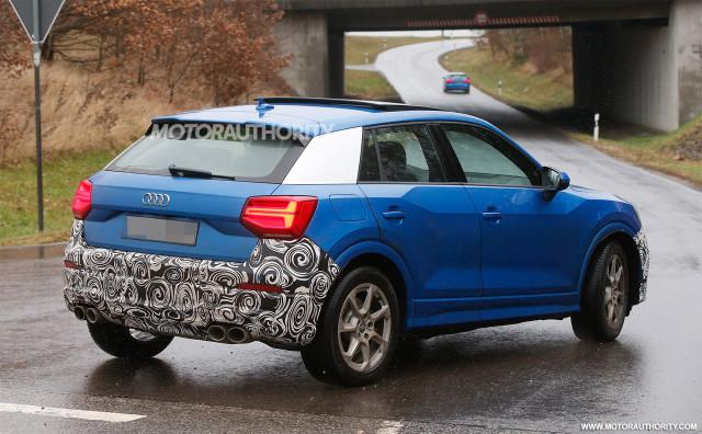 2018 Audi SQ2 spy shots - Image via S. Baldauf/SB-Medien