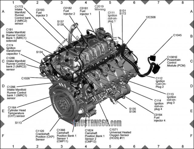 53976 also  furthermore 2014 Mustang Wiring Diagram likewise 1966 Mustang 289 Engine Regulator Wiring Diagram To Alternator likewise 1967 Shelby Gt500 Super Snake Legendary One Of One Shelby. on ford mustang shelby gt500 engine