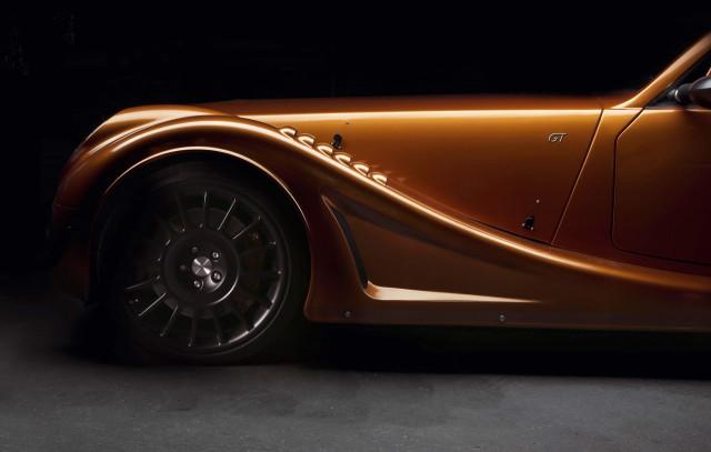 Teaser for Morgan Aero GT debuting at 2018 Geneva motor show
