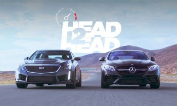 2018 Mercedes-AMG E63 S Sedan vs. 2017 Cadillac CTS-V Sedan – Head 2 Head Ep. 97